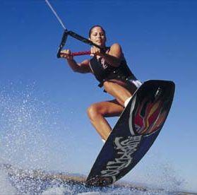wakeboard a balatonon